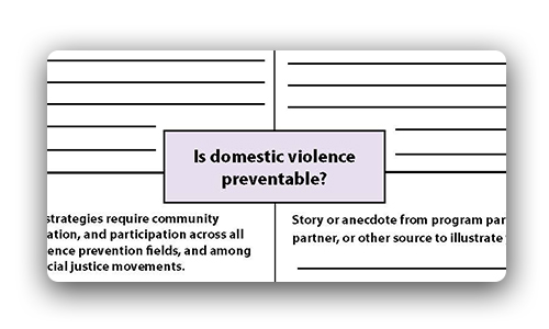 Is Domestic Violence Preventable Talking Forms