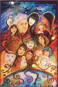 IWD Art by Gina Livingston Murray (2010)